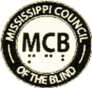 Logo Mississippi Council of the Blind